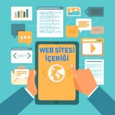 Web Sitesi İçeriği