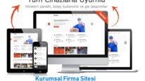 Kurumsal Firma Sitesi