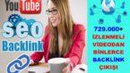 YOUTUBE Üzerinden 729.000 İzlenmeli Videodan Backlink Çalışması