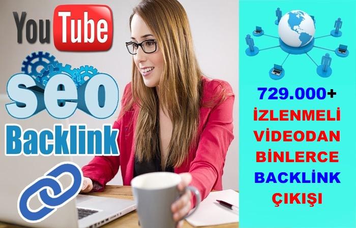 Youtube Backlink Çalışması