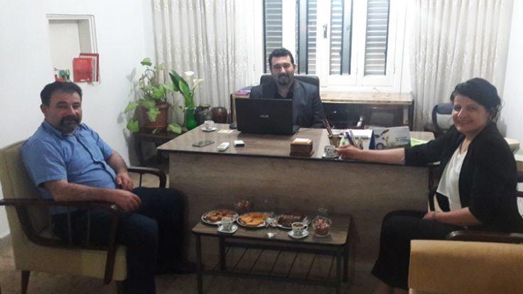 KKTC Temizlik Şirketi Ceylansal'ın Murat Bilişim'e Ziyareti